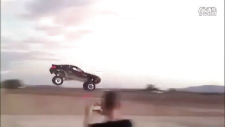 Jumping the Rally Fighter by LM