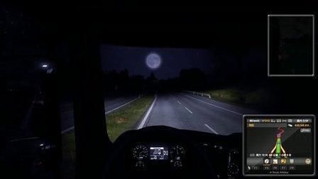 欧洲卡车2 逆天的驾驶技术 小西屌丝解说