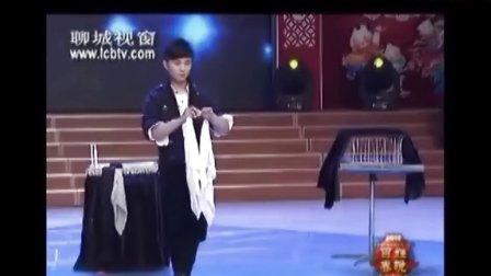 魔术师石洋洋 春晚鸽子魔术表演