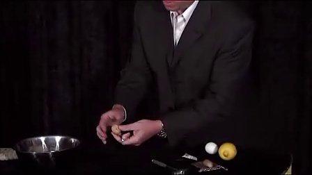 迪龙魔术2010 戒指进核桃进鸡蛋进柠檬教学 Ring In Walnut by John(无密码)