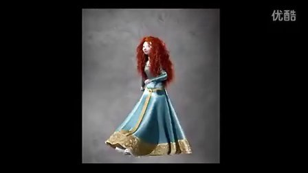 Brave【Designing and Developing a Character Merida】