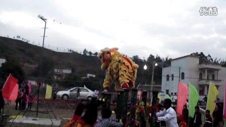 2013年年初六富隆村迎玄天帝醒狮