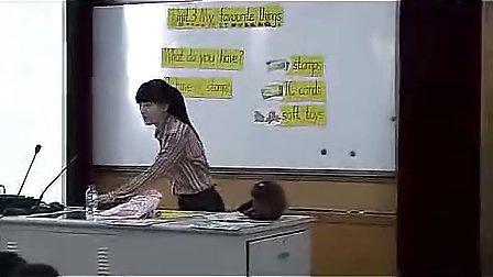小学三年级英语优质课视频《Unit 3 My favourite things》外研版