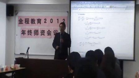 2012年度金程教育师资活动!