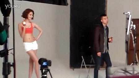 [百度珍惜夫妇吧]高俊熙饮料广告拍摄花絮