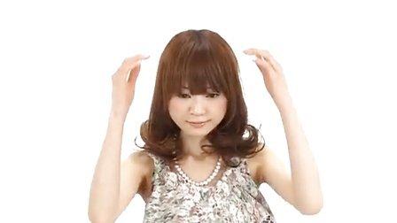 2013扎发盘发视频-2 最新日本时尚扎发大全 美发教材