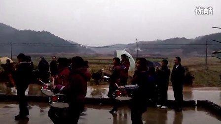 安徽省池州市东至县泥溪镇元潘村文化盛典之舞龙军乐队