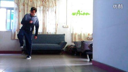 shuffle 反跨拉步 ( Bass风格 by waion)