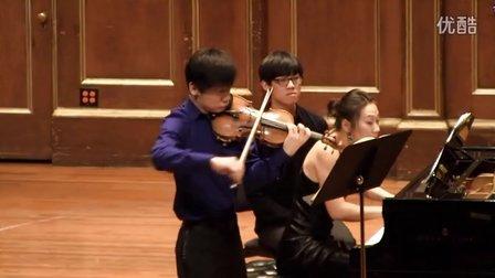 """贝多芬第九小提琴奏鸣曲""""克鲁采"""" - 第一乐章"""