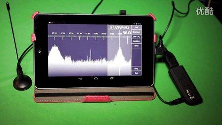 SDR TOUCH 软件无线电安卓版 支持2832U 片段不完整