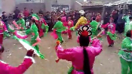 沧州市东光县郑集秧歌队1