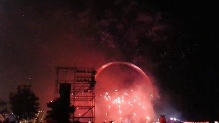 2013年正月十五抚顺市李石经济开发区烟花节
