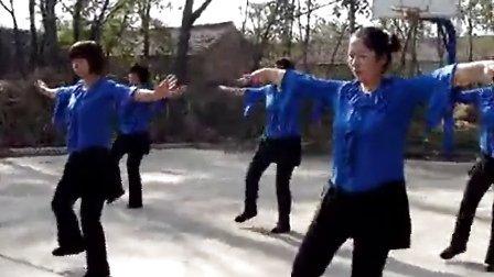 菏泽市西马垓广场舞:红雪莲