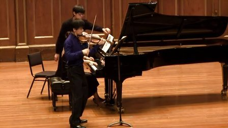 """于翔演奏贝多芬第九小提琴奏鸣曲""""克鲁采"""" - 第二乐章"""