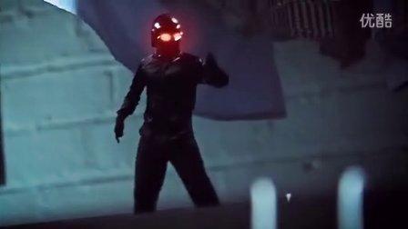 好莱坞大片范之猫星人大战黑衣小人!制作好碉堡,猫星人身手好了