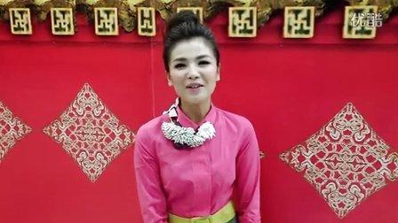 刘涛:粉装亮相湖南卫视元宵晚会,给大家拜年!