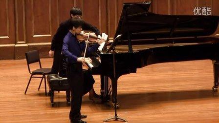 """于翔演奏贝多芬第九小提琴奏鸣曲""""克鲁采"""" - 第三乐章"""