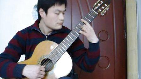 阿拉伯风格随想曲吉他演奏 潍坊朋客古典吉他培训 教学