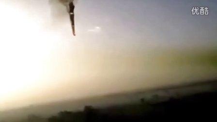 惊魂30秒 实拍埃及热气球爆炸坠落全过程