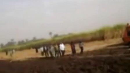 埃及热气球坠毁现场救援直击