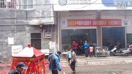 广西博白县凤山镇正月十一游神片段