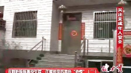 山西科教频道都市110 太谷双胞胎马心玥被杀焚尸案件
