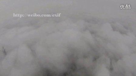 《天空之城》-IBWCF-航拍云雾都市