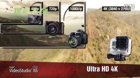 会声会影X6效果,Corel VideoStudio Pro X6