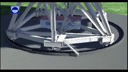上海65米射电望远镜3D介绍片