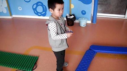 长春南关区大榕树幼儿园小班感统课