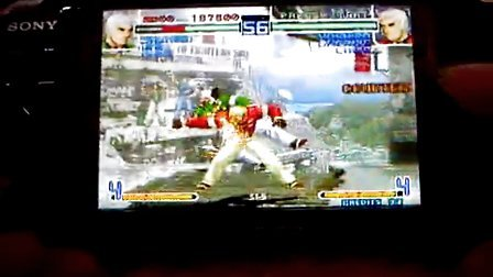 PSP游戏拳皇十周年纪念版