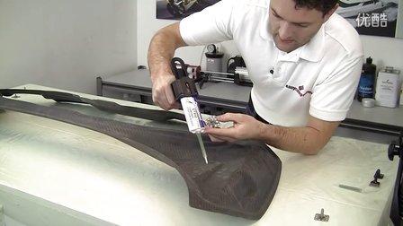 高端汽车改装 手工碳纤维车头盖完整过程(3-3)
