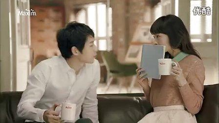 【新浪微博关注 每日韩剧精选】宋仲基maxim摩卡咖啡cf
