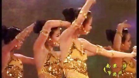 印度舞集体舞《远古之印》葫芦岛南票2013春节团拜会大兴中学
