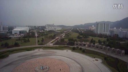 温大学子广场航拍
