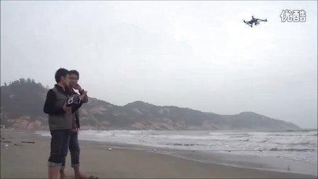 XAircraft SuperX飞控 海边定点悬停