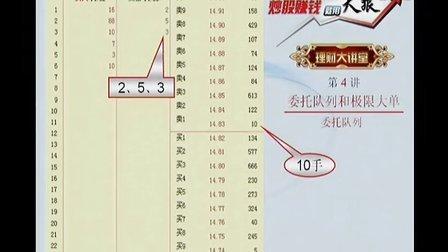 天狼50理财大讲堂(4)委托队列和极限大单