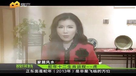 黄楚淇2013年生肖运-虎 房产频道-《家居第一线》