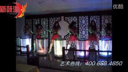 河北邯郸三晋王府小型舞台激光水鼓《中国龙》!