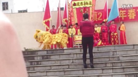 2013年广宁县江屯镇醒狮大巡游永兴堂醒狮队表演