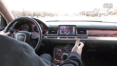 奥迪A8L W12试驾测试