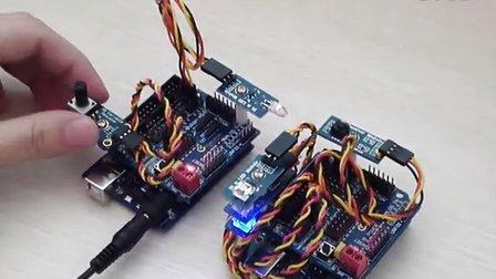 红外无线传输之旋转电位计控制LED灯