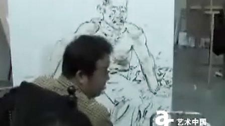 忻东旺油画人物教学示范1