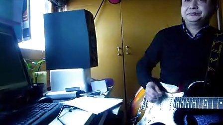 吉他教学funk电吉他节奏教学示范