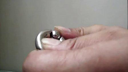 琉璃制品 最新 钛钢 阴环 PA环不需要工具 能拆卸