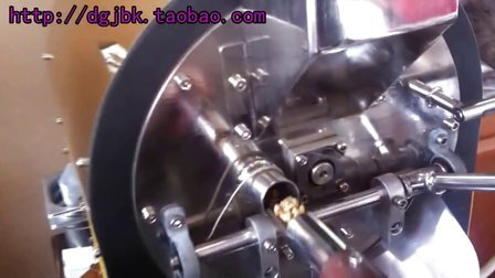 福标烘焙机炒豆视频、精品咖啡豆烘焙