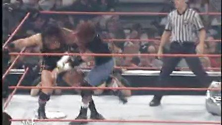 Backlash 2001 Rhyno vs Raven Hardcore Championship