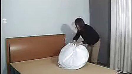 魔术蚊帐折叠方法