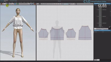 Creating_Blouse_CLO3D