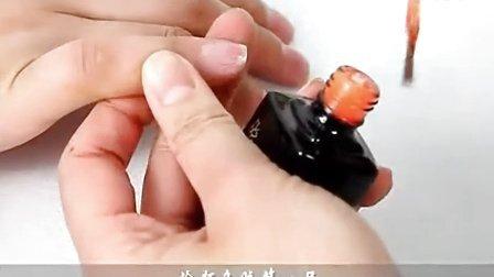 甲油胶芭比胶操作方法 光疗美甲教程